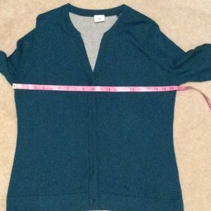 CAbi Sweaters - Cabi 3368 Ever Cardigan Moroccan Blue Size Large